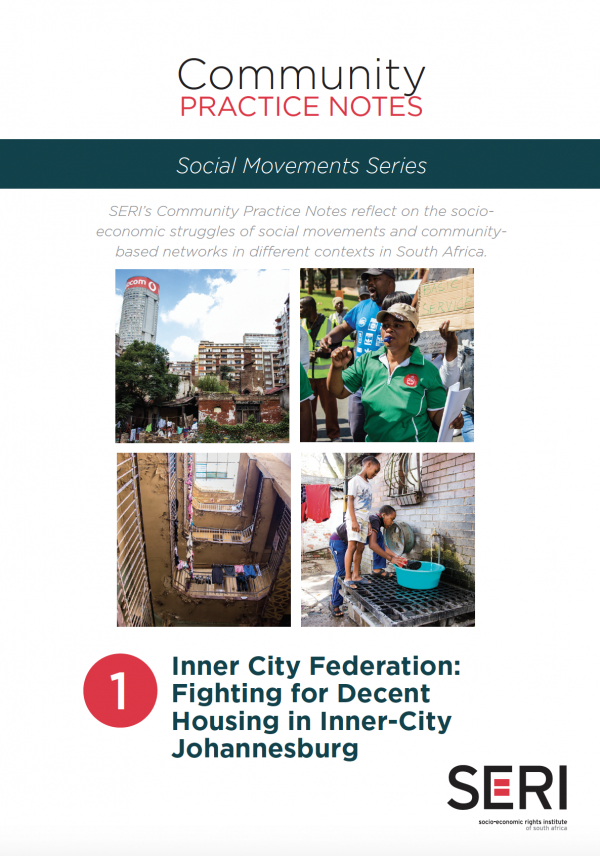 Community practice note on Inner City Federation