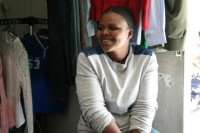 Community-based saving for building a small business ~ the shoe seller in Samora, Cape Town